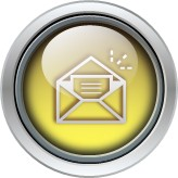 glass round email icon