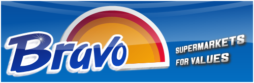 Bravo Supermarkets Logo