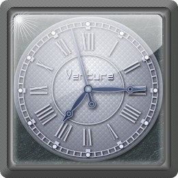 square shine clock